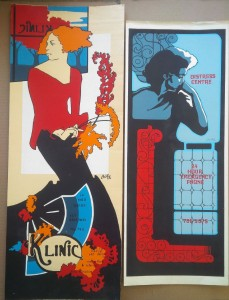 Klinic Early '70s Posters from Dr David McEwan_1