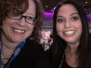 Pictured above me with Jenn Lusby from Futurpreneur Canada at She Day 2017
