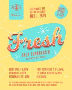 Fresh Gala Fundraiser, March 7/20
